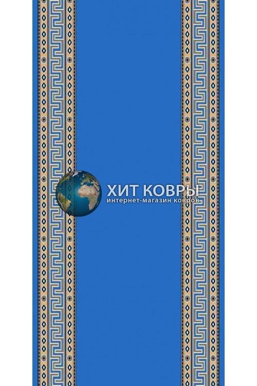 ковер в комнату Кремлевка 5463 бирюзовый