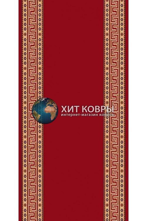 Красная ковровая дорожка Кремлевка 5463 красный