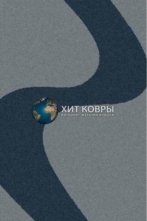Российский ковер прямоугольный Platinum t616 голубой
